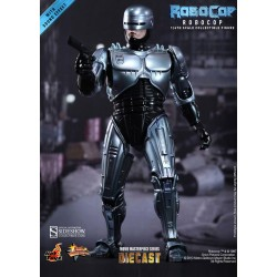 RoboCop Figure Movie Masterpiece Diecast 1/6 RoboCop