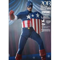 Captain America Movie Masterpiece Figure 1/6 Star Spangled Man