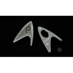 Star Trek 2009 réplica 1/1 Distintivo Ingeniería de la Flota Estelar Magnético
