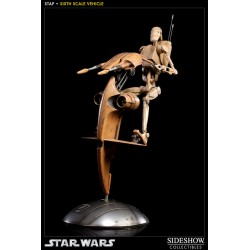 Star Wars Figure 1/6 S.T.A.P. with Battle Droid