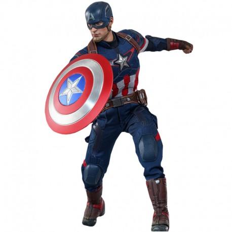 Los Vengadores La Era de Ultrón Figura Movie Masterpiece 1/6 Capitán América